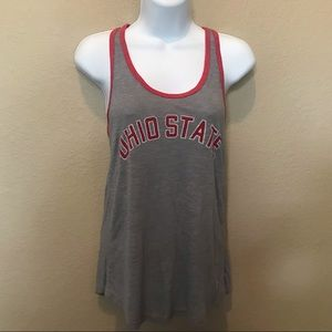 Ohio State Gray Red Tank Top Small shirt